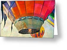 Balloon Banner Greeting Card