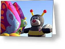 Balloon Bug Talk Greeting Card