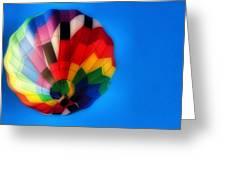 Balloon Colors Greeting Card