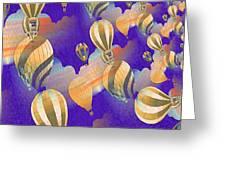 Balloon Fantasy Greeting Card
