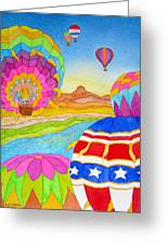 Balloon Festival Yuma Greeting Card
