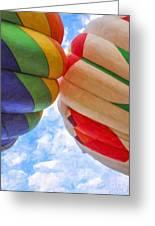 Balloon Fist Bump Greeting Card