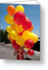 Balloon Girl Greeting Card