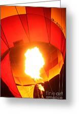 Balloon-glow-7917 Greeting Card