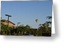 Balloon Over Lorimar Greeting Card