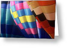 Balloon Patterns Greeting Card