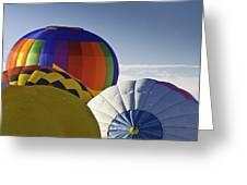 Balloon Pillows Greeting Card