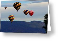 Balloon Rise Greeting Card