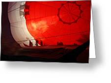 Balloon Shadows 2 Greeting Card