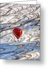 Balloon Shimmy Greeting Card