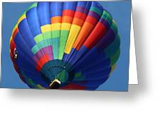 Balloon Square 2 Greeting Card