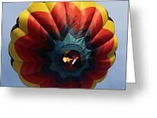 Balloon Square 3 Greeting Card