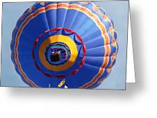 Balloon Square 4 Greeting Card