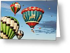 Balloons Away Greeting Card