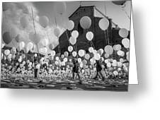Balloons For Charity Greeting Card