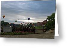 Balloons Over Lewiston Greeting Card