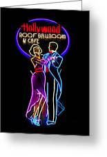 Ballroom Dancing Sign Greeting Card