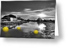 Balls Of Athelney  Greeting Card