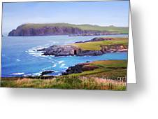 Ballyferriter Co. Kerry Ireland Greeting Card by Jo Collins