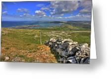 Ballyvaughan View Greeting Card