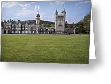 Balmoral Castle Scotland Greeting Card