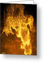 Balrog Of Morgoth Greeting Card by Curtiss Shaffer