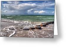 Baltic Beach Greeting Card