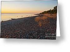 Baltic Sea Coast Greeting Card