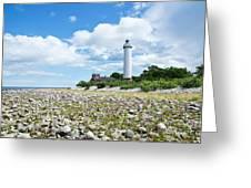 Baltic Sea Lighthouse Greeting Card