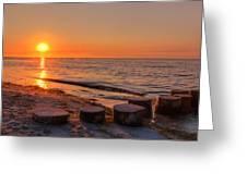 Baltic Sun Greeting Card