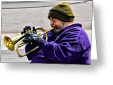 Baltimore Blues Greeting Card