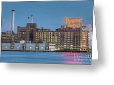 Baltimore Domino Sugars Plant I Greeting Card