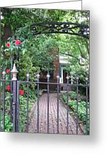 Baltimore Garden Greeting Card