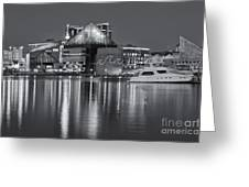 Baltimore National Aquarium At Twilight II Greeting Card