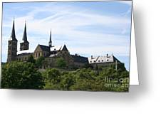 Bamberg Michelsberg - Germany Greeting Card