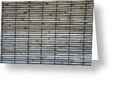 Bambo Wall Greeting Card