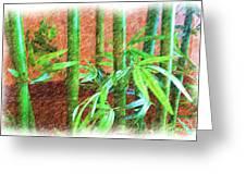 Bamboo #1 Greeting Card