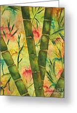 Bamboo Garden Greeting Card
