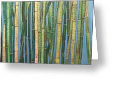 Bamboo Greeting Card by Leslye Miller