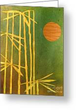 Bamboo Moon Greeting Card