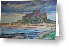 Bamburgh  Greeting Card