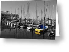 Banana Boat Greeting Card