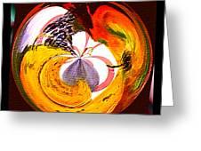 Banana Swirl Greeting Card