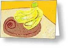 Bananas From Paphos 3 Greeting Card by Anita Dale Livaditis