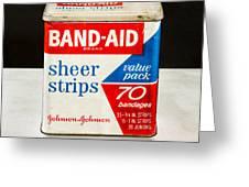 Band-aid Box Greeting Card
