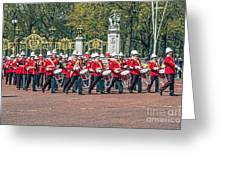 Band Of The Guard Greeting Card