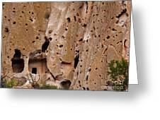 Bandelier Caves Greeting Card
