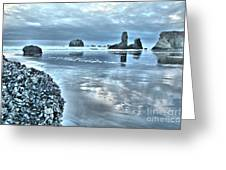 Bandon Beach Scatter Greeting Card