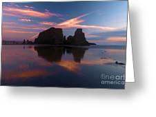 Bandon Beach Skies Greeting Card