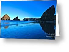 Bandon Blue Greeting Card